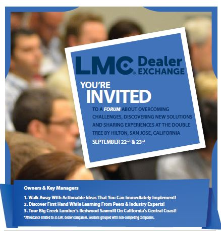 LMC Dealer Exchange: September 22 - 23, 2015